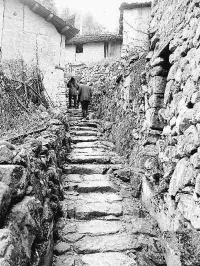 传统村庄空间结构