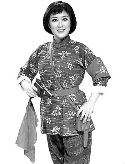 吴娜在国家大剧院版《洪湖赤卫队》中扮演韩英。