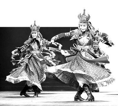 古代舞女子卡通图片