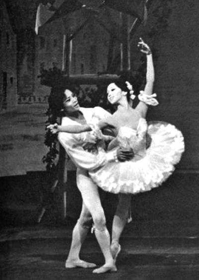 1978年松山芭蕾舞团访华节目单上的剧照