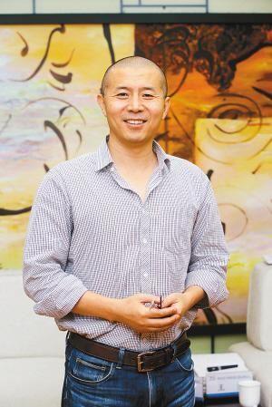 毕飞宇 记者 尚洪涛 摄
