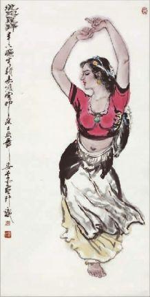 缙云人,是现代中国著名人物画家 自幼便显现出极高的绘画天赋,四