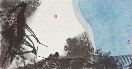中国水墨风框架