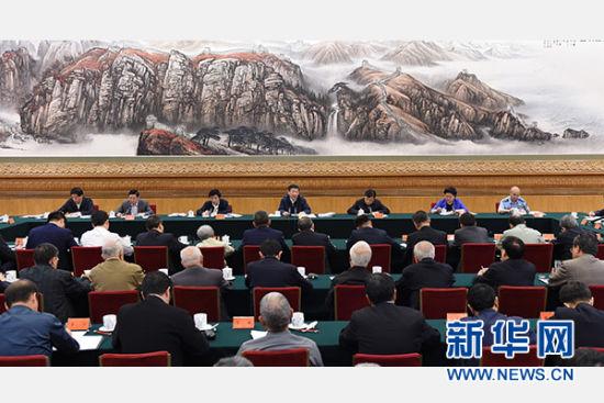 5月17日,中共中央总书记、国家主席、中央军委主席习近平在北京主持召开哲学社会科学工作座谈会并发表重要讲话。 新华社记者谢环驰摄