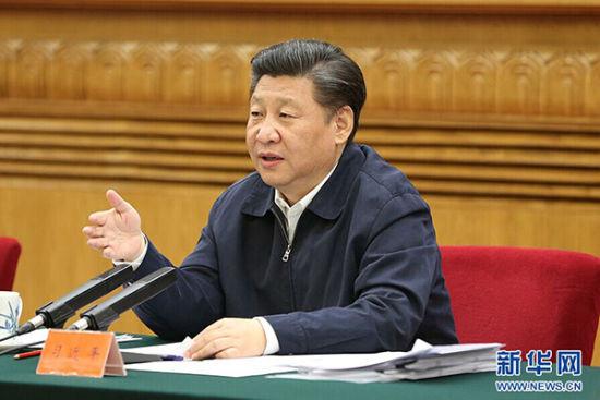5月17日,中共中央总书记、国家主席、中央军委主席习近平在北京主持召开哲学社会科学工作座谈会并发表重要讲话。 新华社记者丁林摄