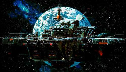 《超时空要塞》中的宇宙战舰据悉,《超时空要塞》的日本版...