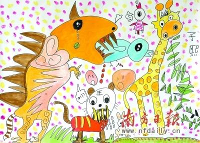 儿童快乐学画·几何图形画_乐乐简笔画