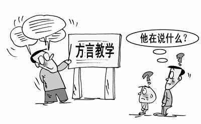 闽南师大手绘地图
