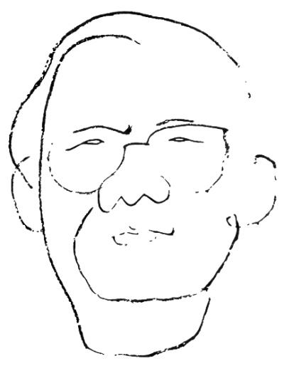 小孩搀扶老人简笔画
