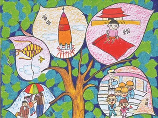 绘画作品评选活动获奖作品展开幕式于11月25日下午在和平文化宫举行.