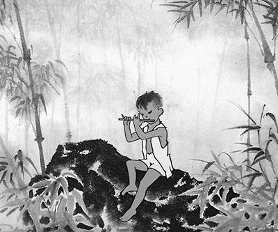 中国水墨画动画片下载- 带走 了水墨动画